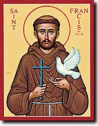 The Prayer of St Francis of Assisi